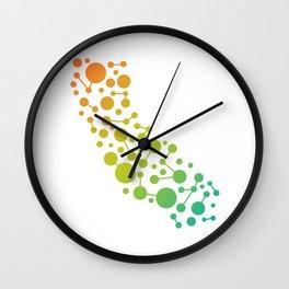 California Map Abstract Wall Clock
