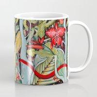 paradise Mugs featuring Paradise  by Felicia Atanasiu