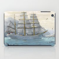 ship iPad Cases featuring Ship by Azot