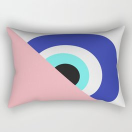 Devil eye pink hide Rectangular Pillow