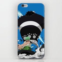 Zoro - Shishi Sonson iPhone Skin