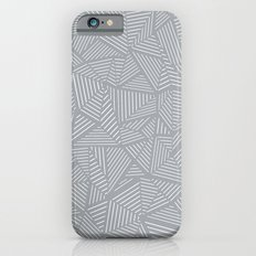 Ab Linea Grey iPhone 6s Slim Case