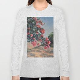 Oleander in the yard Long Sleeve T-shirt