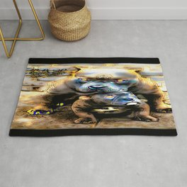 Pit Bull Models: Blue Defender 01-01 Rug