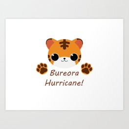 Seventeen Bureora Hurricane Art Print