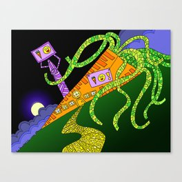 #91: House of Carrot Canvas Print