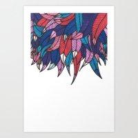 Birds from Indonesia Art Print