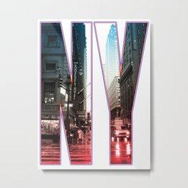 NY Metal Print