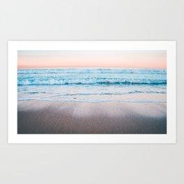 Hermosa Beach, USA #society6 #decor #buyart Art Print