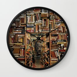 So many books, so little time. Wall Clock