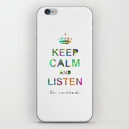 Listen To Sellah  iPhone Skin