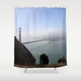 The Golden Gate Bridge Shower Curtain