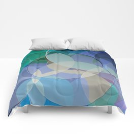 Abstract Composition 627 Comforters