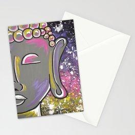 Space Buddha Stationery Cards