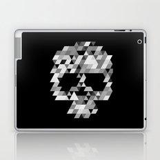 Skull bw Laptop & iPad Skin