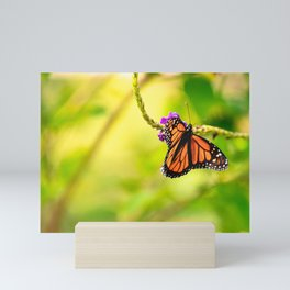 Vibrant Monarch Mini Art Print