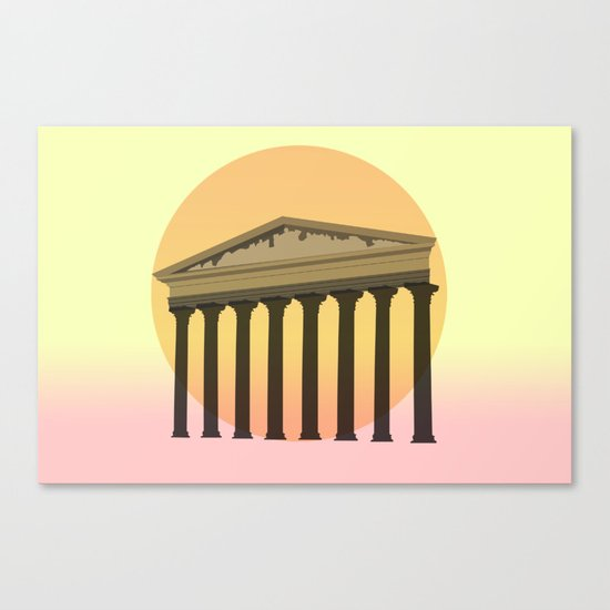 Rising culture Canvas Print