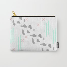 Fresh illustrated abstract print Carry-All Pouch