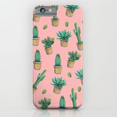 cactus pink2 Slim Case iPhone 6