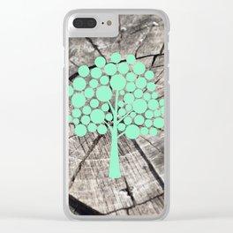 Last tree (designer) Clear iPhone Case