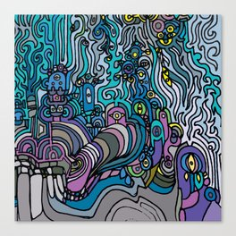 THE AFTERPARTY Canvas Print