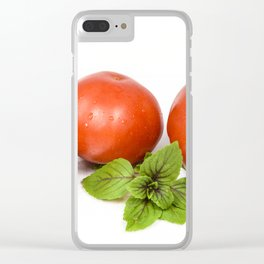 Tomatoe Clear iPhone Case