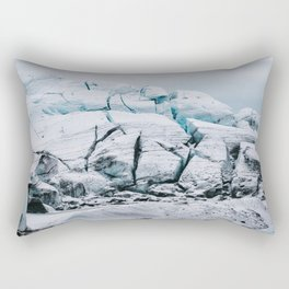 Glacial World of Iceland - Landscape Photography Rectangular Pillow
