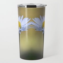 Mirroring delicate daisy flowers Travel Mug
