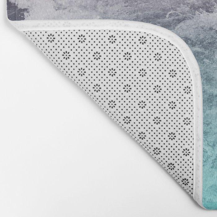 pastel ocean Bath Mat