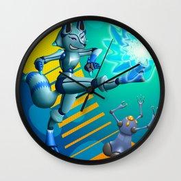 Krispe Kitsune Wall Clock