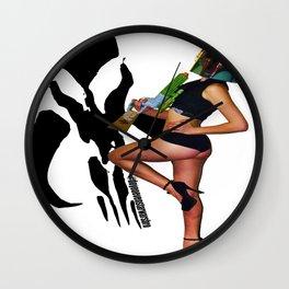 Holly Dawn Fett Wall Clock