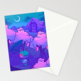 Midnight Lily Stationery Cards