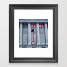 Key to Cosmos Framed Art Print