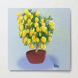 Lemon tree Metal Print