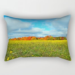 Autumn's Contrasts Rectangular Pillow