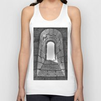 medieval Tank Tops featuring Medieval Window by Rick Cohen