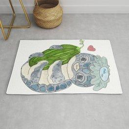 Kappa Loves Cucumber Rug