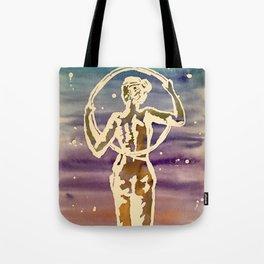 Starry hoop Tote Bag