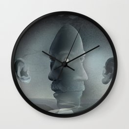 East and West Wall Clock
