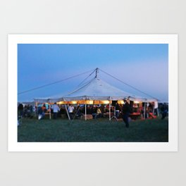 The Story Tent Art Print
