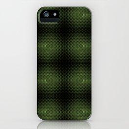 Fractal Art by Sven Fauth - Green Matrix iPhone Case