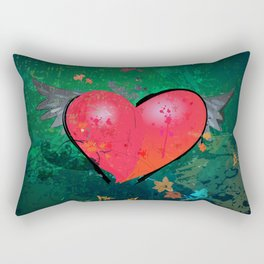Aching Heart Rectangular Pillow