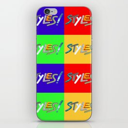 Styles iPhone Skin