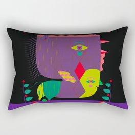 Don Gallo da Brisighella [+1515 ca.] Rectangular Pillow