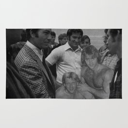 Rock n Roll Reunion - Vintage Collage Rug