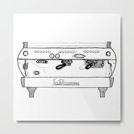 La Marzocco GB5 Espresso Machine Metal Print