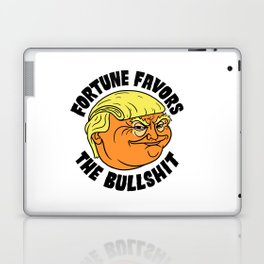 Fortune Favors the Bullshit Laptop & iPad Skin