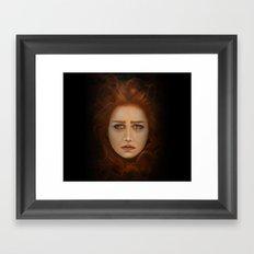 Dark princess Framed Art Print