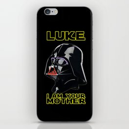 LUKE I AM YOUR MOTHER iPhone Skin