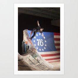 Bam Margera - FDR Bluntslide Art Print